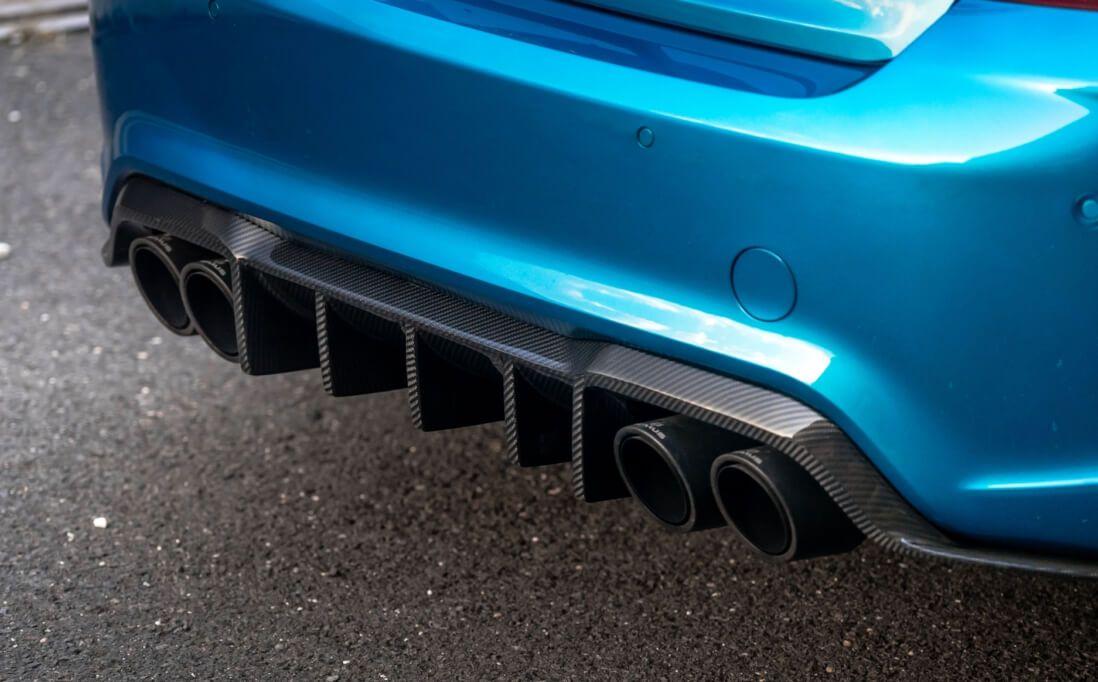 BMW M2 Carbon Teile Diffusor Spoiler